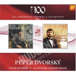 Peter Dvorský - 1977/Slovenské ľudové piesne len 9,49 €