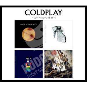 Coldplay - 4 CD Catalogue Set len 19,98 €
