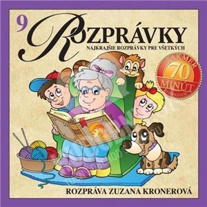 Zuzana Kronerová - Najkrajšie rozprávky pre všetkých 9 len 9,99 €