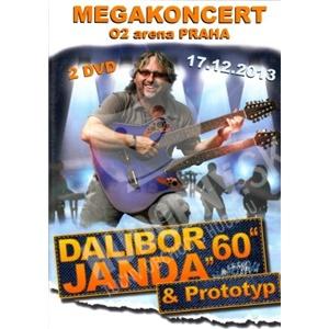 "Dalibor Janda - Dalibor Janda ""60"" - Megakoncert DVD len 12,99 €"