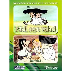 Jozef Kroner - Maťko a Kubko (Pásli ovce valasi) DVD len 12,99 €