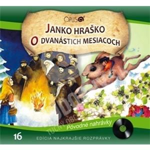 Najkrajšie Rozprávky - Janko Hraško / O dvanástich mesiacoch len 6,99 €
