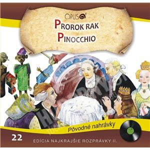 Najkrajšie Rozprávky - Prorok rak / Pinocchio len 6,99 €