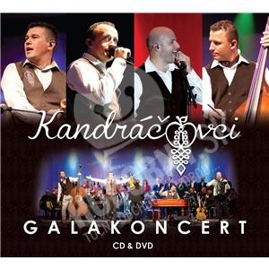 Kandráčovci - Galakoncert (CD+DVD) len 12,99 €
