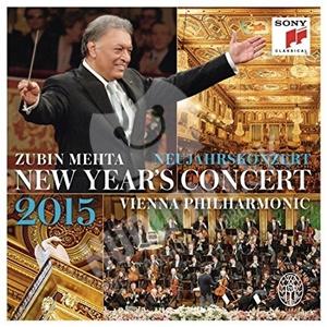 Wiener Philharmoniker, Zubin Mehta - New Year's Concert 2015 len 24,99 €
