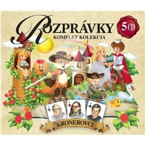 Kronerovci - Rozrpávky - kompletná kolekcia (5CD) len 9,99 €