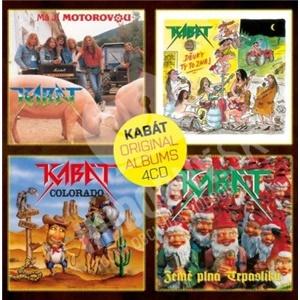 Kabát - Original albums Vol.1 (4CD) len 15,49 €