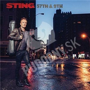 Sting - 57TH & 9TH (Blue Vinyl Limited edition) len 38,99 €