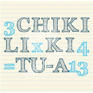 Chiki liki tu-a - 3 x 4 = 13 len 11,99 €