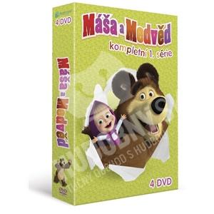 VAR - Máša a Medveď - kompletná 1. séria (4DVD) len 27,49 €