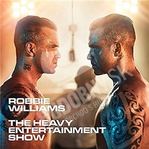 Robbie Williams - The Heavy Entertainment Show (Hardcover book CD+DVD) len 16,79 €