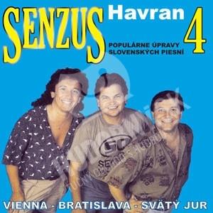 Senzus 4 - Havran (2CD) len 14,99 €