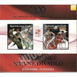 Radošinské naivné divadlo - RND: Jááánošííík - človečina (2CD) len 10,49 €