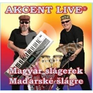 Akcent Live - Magyar slagerek/Maďarské šlágre len 7,59 €