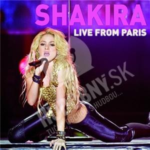 Shakira - Live from Paris (Deluxe CD+DVD) len 15,99 €