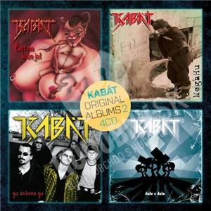 Kabát - Original albums 4CD vol. 2 len 15,49 €