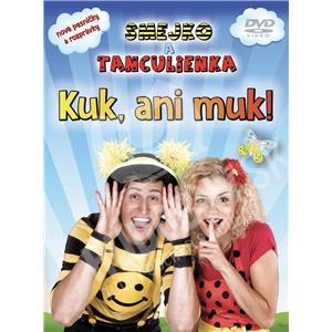 Smejko a Tanculienka - Kuk, ani muk! (DVD) len 11,99 €