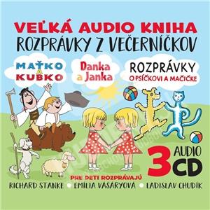 Rozprávky - Rozprávky z večerníčkov 3CD BOX len 9,99 €