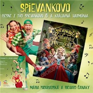 Podhradská & Čanaky - Piesne z DVD Spievankovo 6 a kráľovná Harmónia len 9,99 €