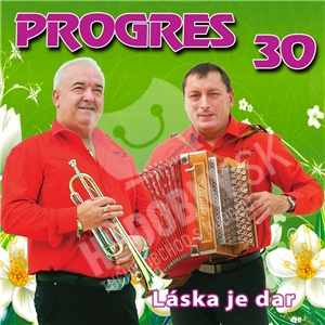 Progres - Láska je dar 30 len 10,99 €