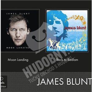 James Blunt - Moon Landing/Back to bedlam (2CD) len 27,99 €
