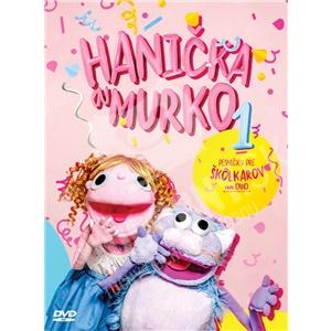 Hanička a Murko - Pesničky pre škôlkarov na DVD len 9,89 €