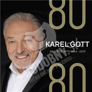 Karel Gott - 80/ 80 Největší hity 1964–2019 (4CD) len 17,48 €