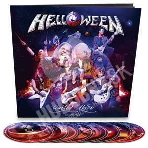 Helloween - United Alive earbook limited (Bluray+DVD+CD) len 77,79 €