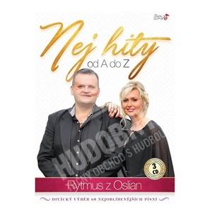 Rytmus z Oslian - Nej hity od A do Z (3CD) len 17,98 €