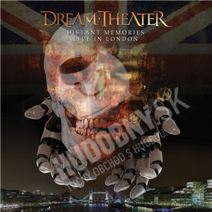 Dream Theater - Distant Memories-Live in London (Special Edition 3CD+2Bluray) len 24,99 €