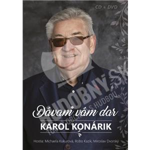 Karol Konárik - Dávam Vám dar (CD + DVD) len 12,99 €