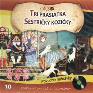 Rozprávky - Tri prasiatka + Sestričky Kozičky len 6,99 €
