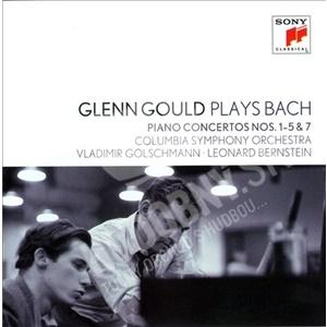 Glenn Gould - Glenn Gould Plays Bach: Piano Concertos Nos. 1-5 & 7 len 7,99 €