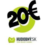 hudobny.sk - Darčekový poukaz v hodnote 20€