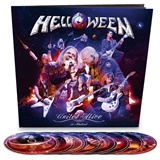 Helloween - United Alive earbook limited (Bluray+DVD+CD)